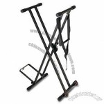 Classic Double X Keyboard Stand with 80kg Loading Capacity