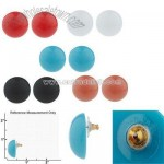 Classic Resin Button Earrings