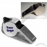 Classic Stainless Steel Whistle Keychain