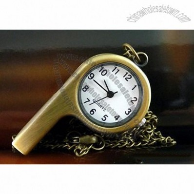 Classic Style Whistle Pocket Watch