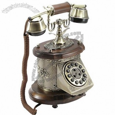 Classic Telephone made of zinc alloy