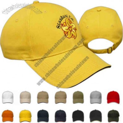 Classic Top Seller - Sandwich Visor Cap Structured