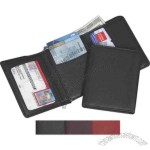 Classic traditional tri-fold wallet with numerous credit card slots