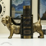 Classical Puppy Bookend