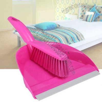 Clean Dustpan With Brush