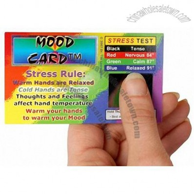 Clear Card - Stress Card