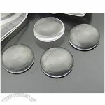 Clear Circle Glass Cabochons