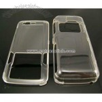 Clear Crystal Case Cover for Nokia N82