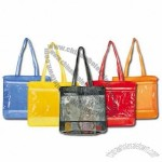 Clear Jelly Mesh Tote Bag