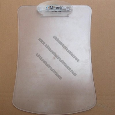 Clear Plastic Clip Writing Board