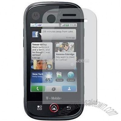 Clear Screen Protector for T-Mobile Motorola Cliq