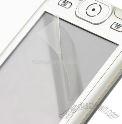 Clear Screen Protector with Soft Cleaning Cloth for LG KU990 KE998