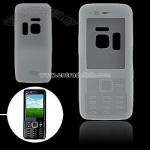Clear Silicone Skin Case Cover for Nokia N82
