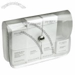 Clear Thick Vinyl Cosmetic Bag