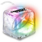 Clear Ultra Glow Ice Cube - Color Changing LED