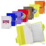 Clear-View Mini Notebook with Pen