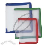 Clear Zipper Bag File Folder