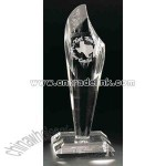 Clear crystal award
