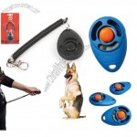 Clicker Dog Training with Spiral Cord Keychain