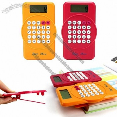Clip Calculator with 8 Digit