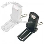 Clip light with keychain