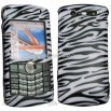 Clip-on Case for Blackberry Pearl 8130-Zebra