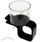 Clip-on Plastic Cup Holder