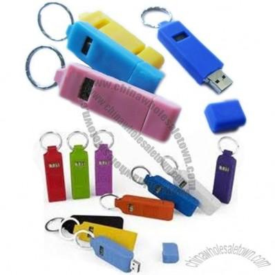 Clock USB Flash Drive with Time Display Function