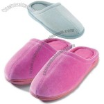Closed Toe Terry Slippers w/Memory Foam