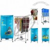 Clothes Dryer with Aluminum Holder