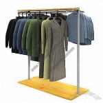 Clothing Display Stand with Wheel