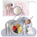 Cloud Shaped Silicone Placemat