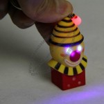 Clown LED Keychain with Sound