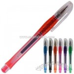 Co-mold gel pen