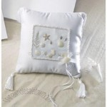 Coastal Mist Ring Pillow