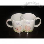 Coated Couple Mug for Sublimation Ink