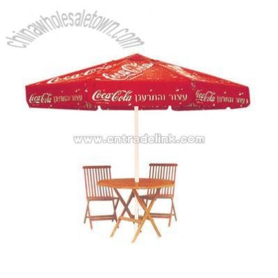 Coca Coal Advertising Umbrella
