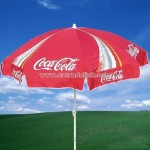 Coca Coal Beach Umbrella