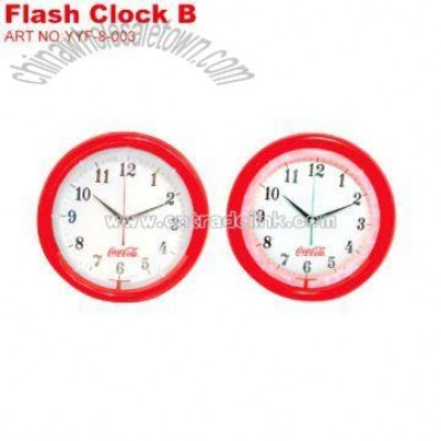 Coca-Cola Flash Clock