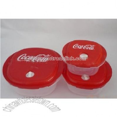 Coca Cola Food Storage Containers