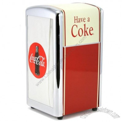 Coca Cola Napkin Dispenser