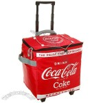 Coca-Cola Red Rolling Insulated Cooler Bag