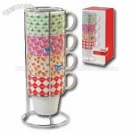 Coca-Cola Retro Mug Set