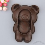 Coffee Bear Silicone Bakeware
