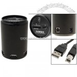 Coke Can Combo All in One Card Reader Writer + 3 Ports USB Hubs