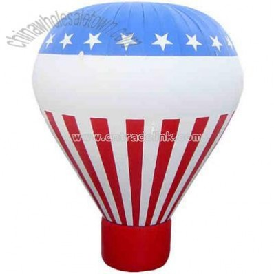 Cold air advertising inflatable balloon