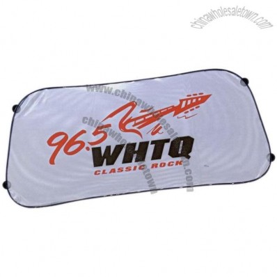 Collapsible Auto Sunshade - Mesh Rear Shade