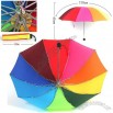Collapsible Fashion Rainbow Umbrella
