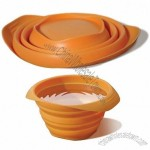 Collapsible Silicone Bowl for Pet Travel