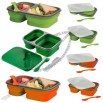Collapsible Silicone Lunch Box Cooker Food Container